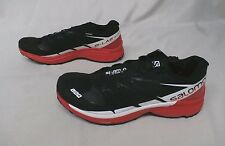 Salomon Men's S-Lab Wings 8 SG Running Shoes #391959 Black/Red/White GG8 Size 9