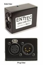 ENTTEC USB DMX PRO INTERFACE WORKS WITH FREE & LICENSED SOFTWARE $10 INSTANT OFF