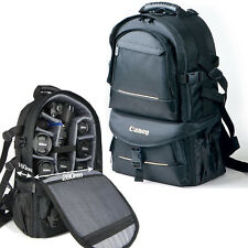 New Waterproof DSLR SLR Camera Backpack Padded Travel Bag Daypack Rucksack Cover