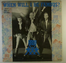 """12"""" Maxi - Bros - When Will I Be Famous? - L5599c - washed & cleaned"""