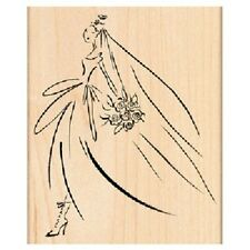 PENNY BLACK RUBBER STAMPS BRIDAL MARCH NEW STAMP 2013