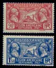 Légion Américaine, Neufs ** = Cote 12 €  / Lot Timbres France 244 245