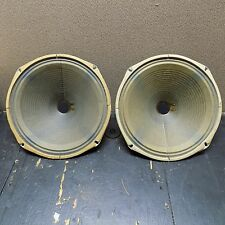"2 Vintage Magnavox 12"" Woofers Removed from 1950s console 584135 232045"