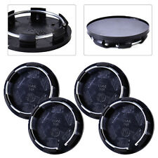 4pcs Car Auto 50mm Plastic Wheel Center Rim Hub Caps Covers Hubcap Set Tyre Trim
