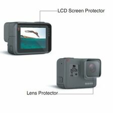 For GoPro Hero 5 Lcd Screen and Lens Protector Film Folil