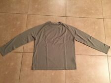 Pre-owned GIORDANO Men's Crewneck Wool Blend Sweater Size M Gray