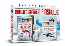 WORLD'S GREATEST AIRSHOWS DVD AND BOOK SET - EXHILARATING ACTION & HISTORY
