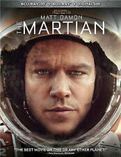 The Martian (Blu-ray Disc, 2016, Includes Digital Copy; 3D) NEW