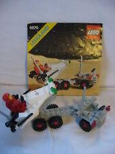 LEGO 6870 ESPACE  LANCEUR DE SONDE SPACIALE AVEC NOTICE