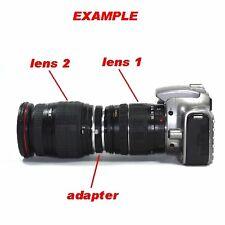 Raccordo di collegamento tra obbiettivi diametro 52mm a baionetta Nikon - 5690