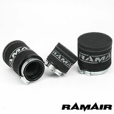 RAMAIR High Flow Foam Race Pod Air Filter fits Aprilia Moped - 65mm - Washable