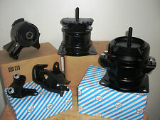 SET OF ENGINE & TRANSMISSION MOUNTS -- FITS: 2001-2003 ACURA CL (3.2L, V6, A/T).