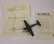 Givejoy Toys Skybirds 1/72nd Scale Aircraft No.7b Messerschmitt Me.109 No.7b