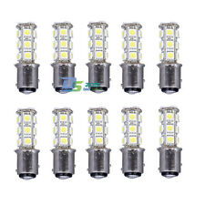 1157 Car White 18 SMD 5050 LED Brake Turn Tail Lights Lamp Bulb Double Contact