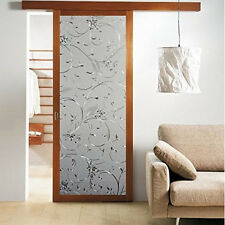 45x100cm Recyclable Frosted Glass Window Film 3D Texture Pattern Stickers Decor