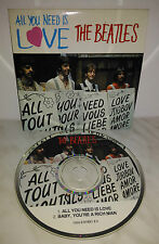 CD BEATLES - ALL YOU NEED IS LOVE - SINGLE