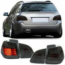 ALL SMOKED LED REAR BACK LIGHTS FOR BMW E61 5 SERIES ESTATE TOURING MODEL 04-07