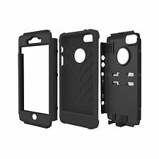 TRIDENT KRAKEN TOUGH HARD SHELL CASE COVER FOR iPHONE 5 / 5S / SE - BLACK