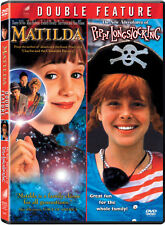 Matilda/The New Adventures of Pippi Longstocking [2 Di (2009, DVD NEW)2 DISC SET