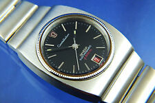 Vintage Omega Constellation Electroquartz Electronic f8192Hz Watch BLACK DIAL