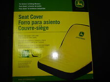 NEW JOHN DEERE LARGE SEAT COVER FOR SEATS WITH 18in BACK REST LAWN TRACTORS