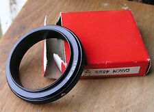 Canon FD FL fit reverse ring   48mm filter thread macro coupler  used japan