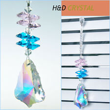 Rainbow Maker Crystal Suncatcher Prisms Pendant Hanging Drop Window Decor Gift