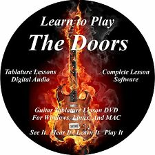 The Doors Guitar TABS Lesson CD 77 Songs + Backing Tracks + BONUS!