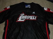 Louisville Cardinals Adidas Basketball Game used warm up Jacket Size 54