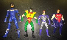 NIghtwing Robin Loose Figure Lot DC Universe Classics
