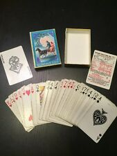 April 1, 1943 - Glendale Horse Carriage Playing Cards - Vintage