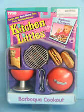 TYCO KITCHEN LITTLES BARBEQUE COOKOUT *NEW*
