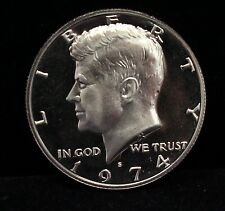 1974 Proof Kennedy Half Dollar GEM Deep Cameo DCAM