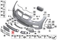 Genuine BMW E92 E93 LCI Front Bumper Center M ACC Grille OEM 51118047403