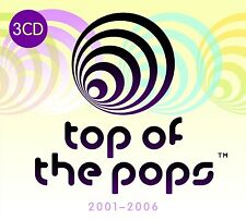 TOP OF THE POPS 2001-2006 3CD SET - VARIOUS ARTISTS (September 2nd 2016)