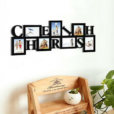 7 Opening CHERISH Collage Wood PICTURE Photo FRAME Wall Decor Birthday Love GIFT