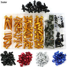 Honda ST1300A ABS 2004 2005 2006 2007 2008 Complete Fairing Bolt Kit Screws Gold