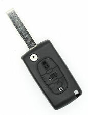 Citoren Peugeot Fiat Scudo VAN 3 buttons FOB REMOTE KEY Case blade type HU83