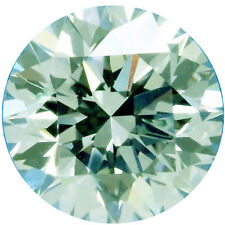 1.28 ct VVS1/7.13 mm GENUINE ICE WHITE COLOR ROUND LOOSE REAL MOISSANITE 4 RING