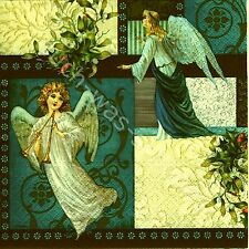 6 Servietten Napkins Angels of Love - Weihnachten - Engel - ef101