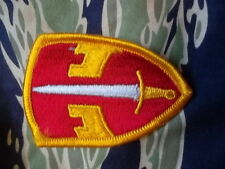 ORIGINAL GENUINE us army MACV MAC V VIETNAM WAR SPECIAL FORCES BADGE PATCH color