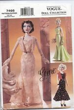 Vogue 7466 Doll Collection Sewing Pattern
