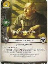 A Game of Thrones 2.0 LCG - 1x Maester Aemon  #125 - Base Set - Second Edition
