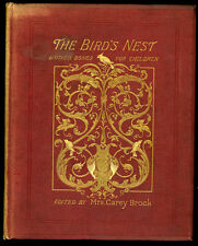 1884 - The Bird's Nest and Other Songs... for Children.