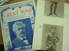 THE GREAT WAR 1914-18 PART 57 SEPTEMBER 18th 1915 PHOTOGRAVURE LT WARNEFORD