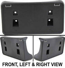 Dodge Ram Pickup Truck Black Front Bumper License Plate Bracket