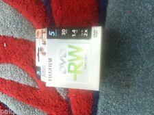 2 5PK FUJI MINI DVD-RW 1.4GB,2X, IN MINI CASE CAMCORDER DISCS #25302425 SALE