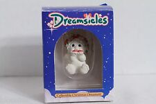 Dreamsicles Poinsetta Angel Cherub Baby Ornament DX292 NEW