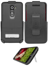 Seidio Surface Combo Holster&Case Cover For LG Optimus G2 Black OEM W/ Kickstand