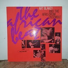ART BLAKEY -The African Beat-RARE 1ST PRESS-NY LABELS ST- 84097(P-EAR*)SUPERB!